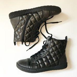 Born BOC Quilted Combat Chukka Boots 8.5 Brightops